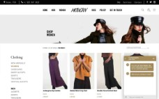 Modern E-Store: Men,Women and kids apparels