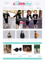 Bigcommerce Store Design for Kids Apparels Store