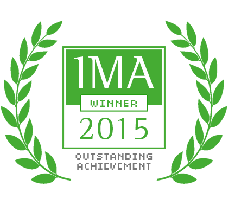 IMA Outstanding Achievement Website Design