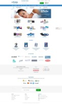 Sleepsolutions - Bigcommerce theme Design and Development