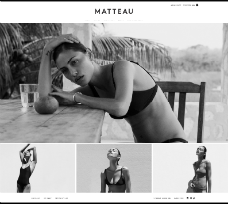 Matteau-Swim.com - Custom Bigcommerce Design And Development