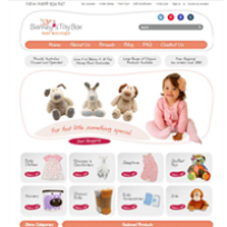 Berneys Toy Box Custom Bigcommerce store design