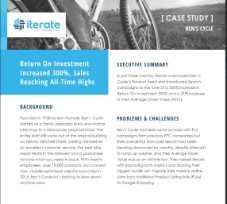 Ben's Cycle Case Study