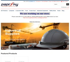 Paprsky E commerce Solutions