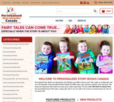 Personalized StoryBooks Canada