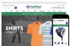 Bigcommerce Custom Design - Golfetail