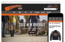 Bigcommerce Custom Design - Wisconsin Harley