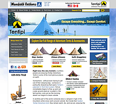 Custom Bigcommerce Design for MansfieldOutdoors.com