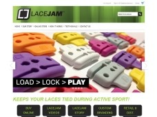 Lacejam e-Commerce Web Design