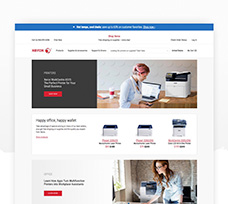 Xerox Ecommerce Website